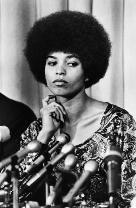 Angela  Davis Bettman CORBIS