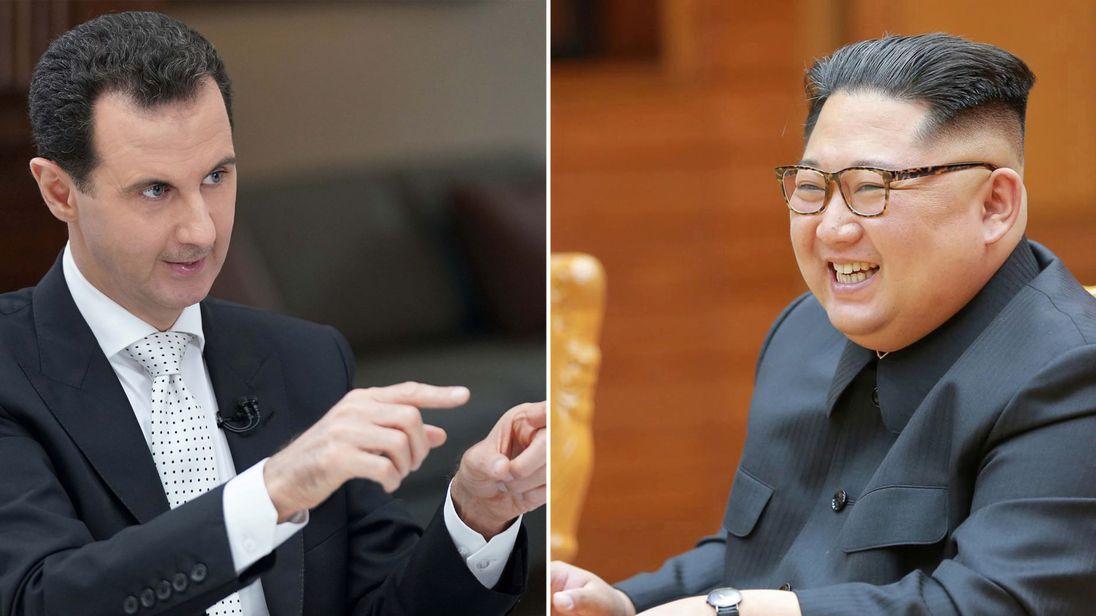 Assad-Kim-Jim-Jong-un-SkyNews